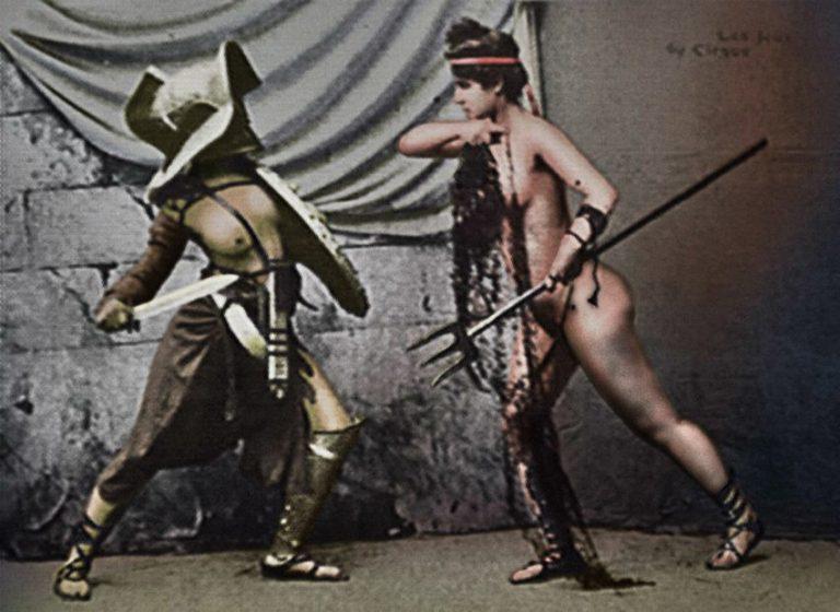 Mujeres en la arena ¿luchadoras o modelos eróticas? Gladiadoras romanas