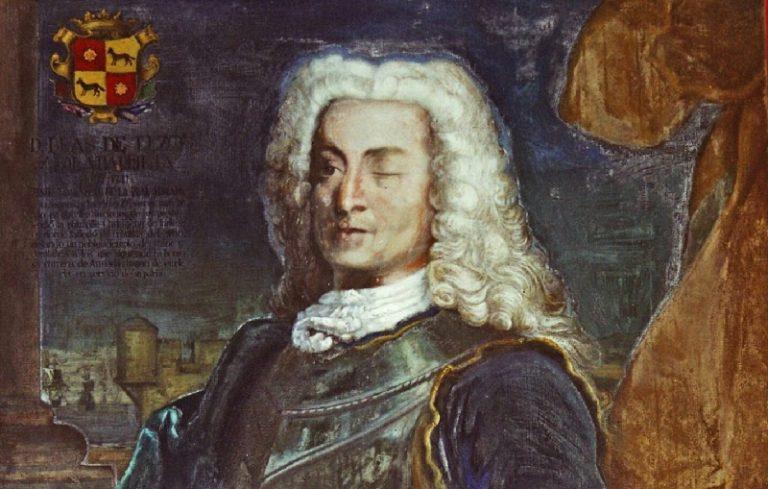 La leyenda del Mediohombre: El origen y la Batalla naval de Málaga (1704)