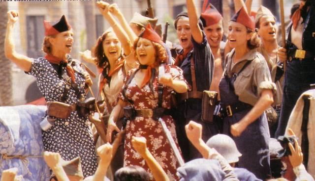 Mujeres milicianas Guerra Civil Española