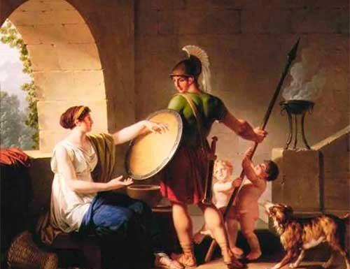 Mujeres espartanas - La Mujer en la antigua Esparta
