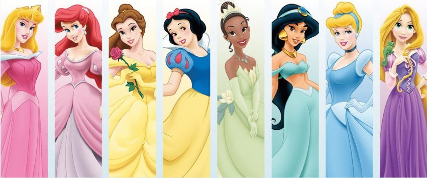 Historia real de las princesas Disney