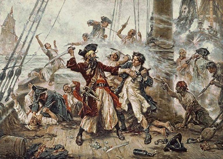Españoles, ingleses y franceses… un contrabando entre velas