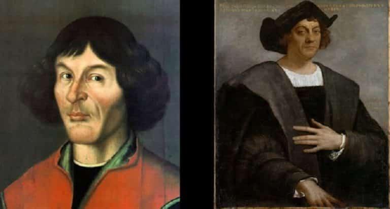¿Soy Copernico o Colón? Historia de dos desconocidos separados al nacer