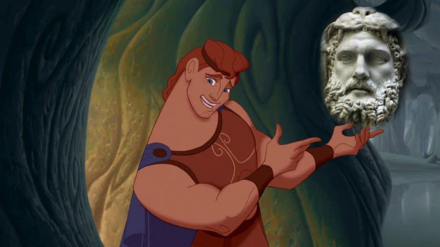 Hércules - Heracles en película Disney