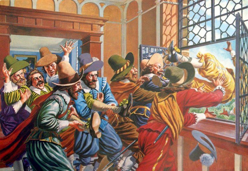 Defenestración Praga