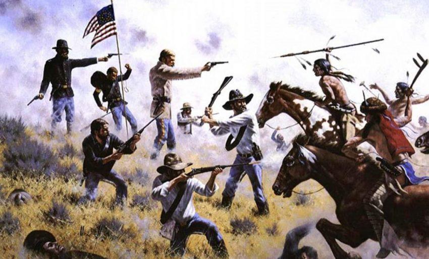Los siux - guerras y exterminio indio norteamericano