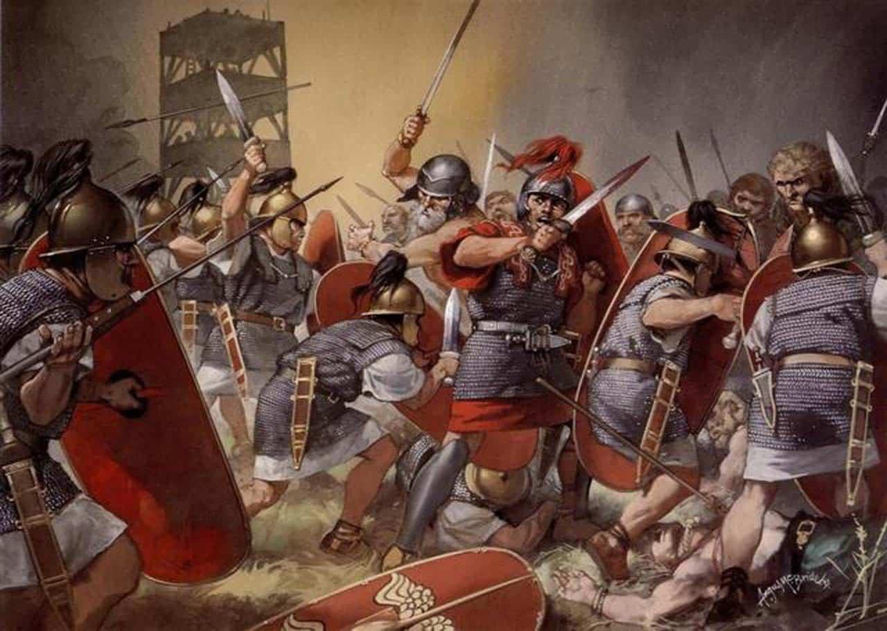 maños calendarios guerras celtíberas
