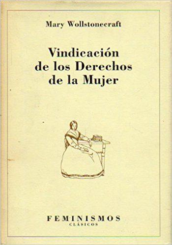 portada vindicacion derechos mujer de Mary Wollstonecraft