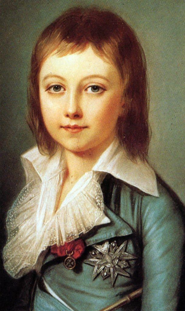 Retrato de Luis XVII