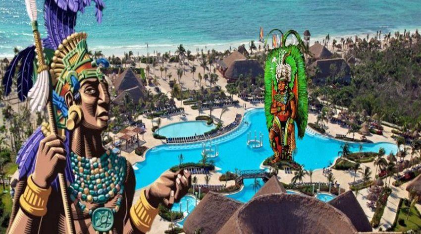 Riviera Maya ciudad de vacaciones - sacrificios humanos