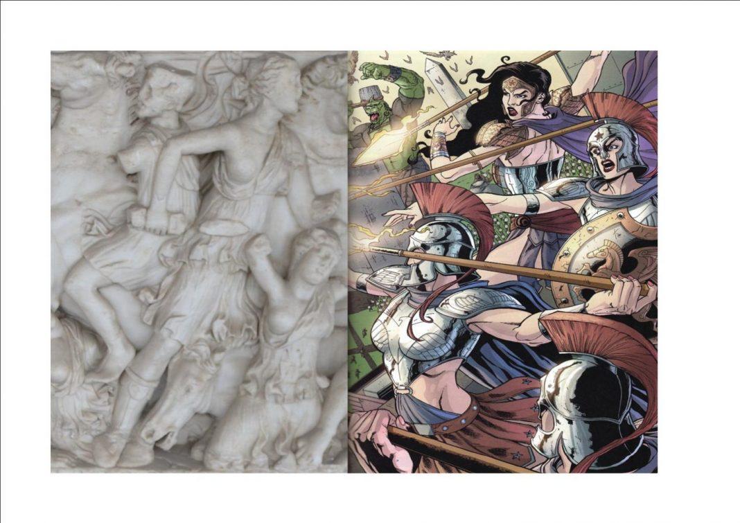 Amazonas antigua Grecia - Cómics Amazonas wonder woman
