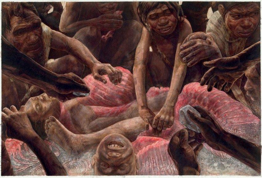 ¡¿Qué hay para comer?! Canibalismo en la Prehistoria
