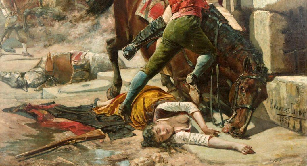 manuela malasaña niña contra la invasión napoleónica francesa