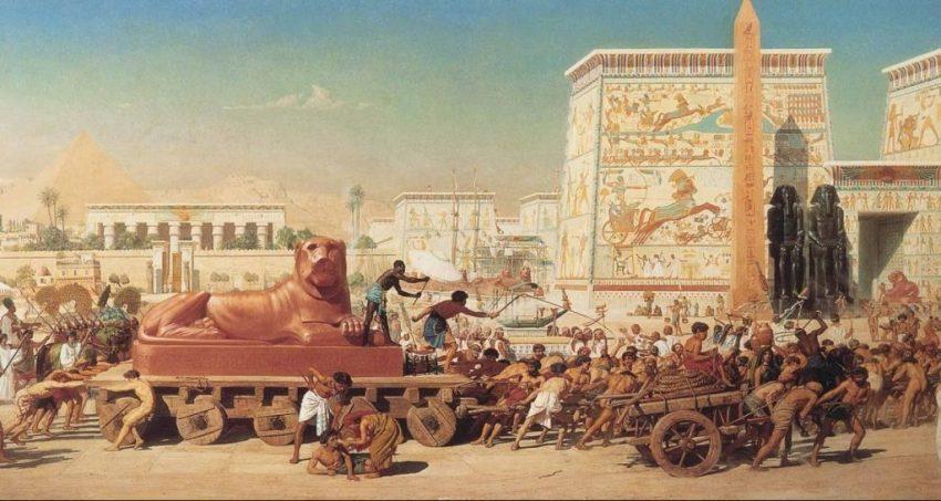 Deir-al-Medina - poblado antiguo Egipto