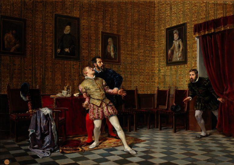 El hijo zumbado de Felipe II que intentó matarle. El príncipe don Carlos