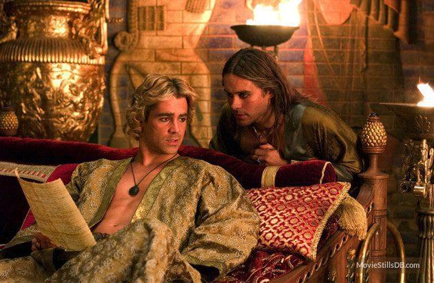 Alejandro y Hefestión