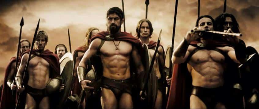 Los musculosos griegos y los persas en Maratón, la lucha por la democracia