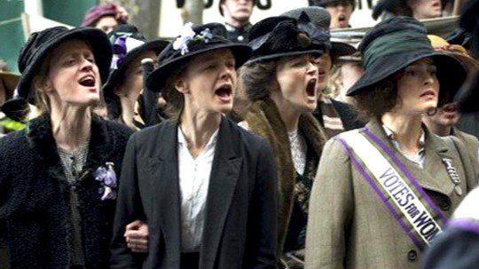 Las Sinsombrero - Sufragistas británicas