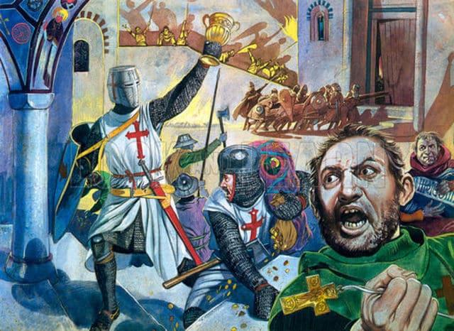 Los cruzados que traicionaron a Cristo conquistando Constantinopla