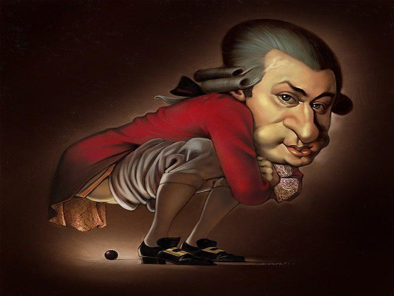 Mozart y su culo
