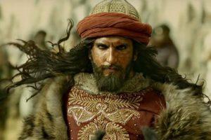 Ranveer Singh interpretando a Alaudin Khilji, en Padmaavat