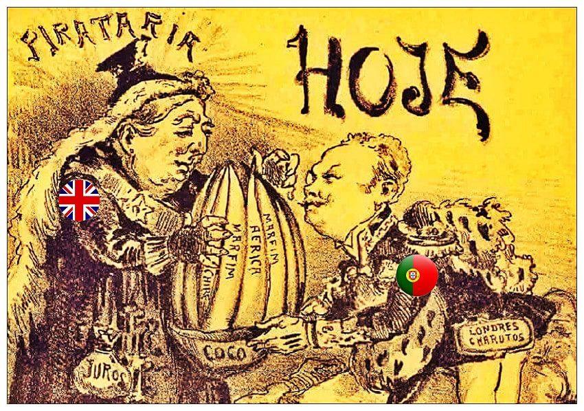 La crisis del mapa rosado o ultimátum británico a Portugal