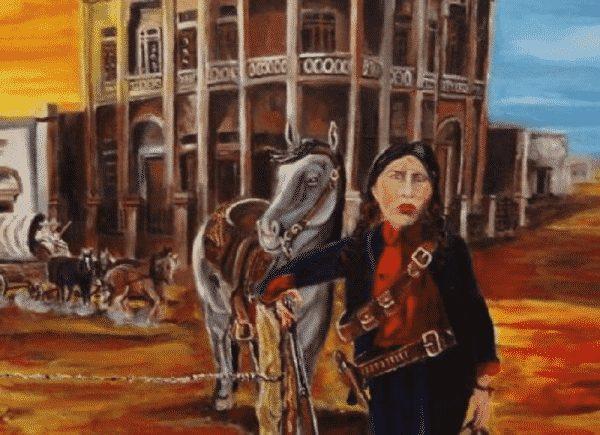 """Petra Herrera, una guerrillera, la """"generala"""" en la Revolución mexicana. Mujer revolucionaria mexicana"""