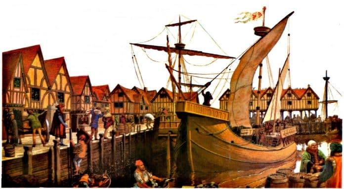 Liga Hanseática - Edad Media
