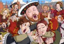Enrique VIII y sus 6 esposas