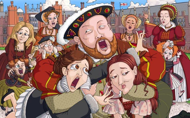 Enrique VIII: rey, jefe de la Iglesia, putero, caprichoso y con ¡6 esposas!