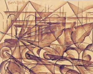 futurismo italiano - artista Giacomo Balla