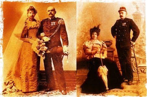 Mata Hari y su marido, Rudolf MacLeod.