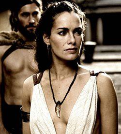 Reina Gorgo de Esparta, esposa de Leónidas, 300 película