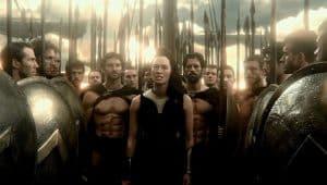 Gorgo reina de Esparta - Fotografía de la película 300