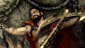 Muerte del rey Leónidas - Foto de 300
