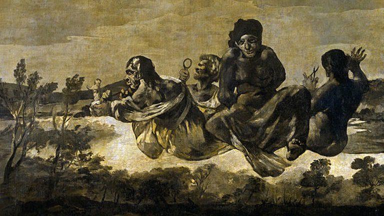Las Parcas. 1819-23. Museo del Prado. Francisco de Goya