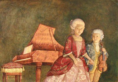 Hermanos Mozart - Amadeus y Nannerl