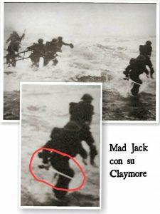 Mad Jack el loco con su claymore