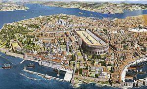 Constantinopla, capital del Imperio bizantino, Bizancio
