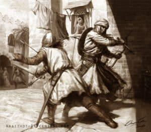 Guerra contra los cristianos cruzados
