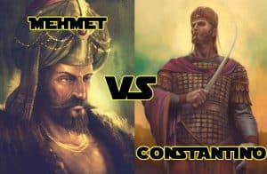 Mehmet y Constantino - Caída de Constantinopla