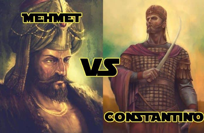 Caída de Constantinopla, Bizancio 1456, capital del Imperio bizantino