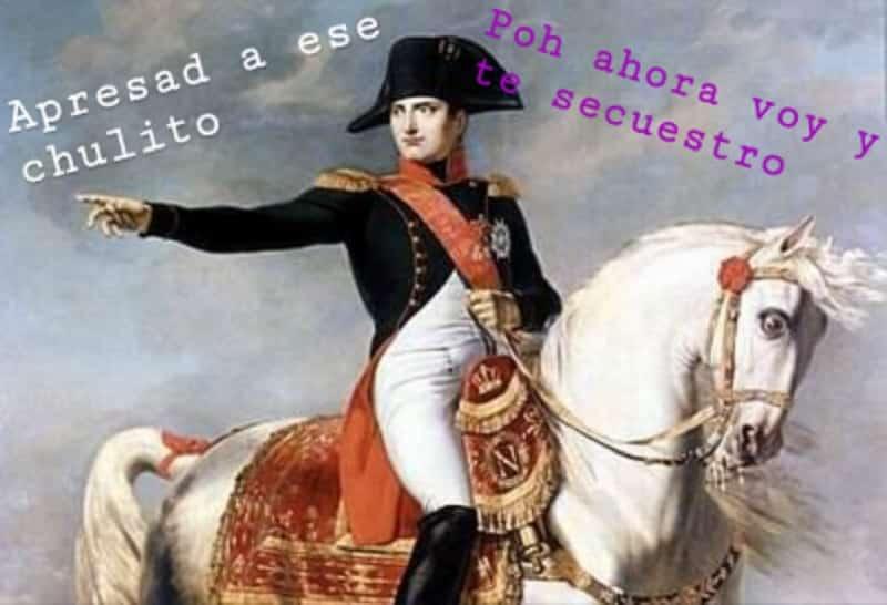 El emperador Napoleón Bonaparte que secuestró al papa Pío VII