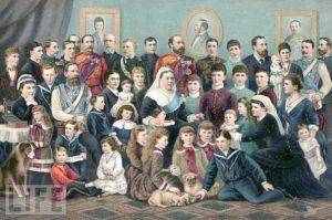 Reina Victoria de Reino Unido hijos - Reina Victoria I de Inglaterra y su familia