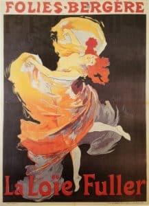 Loïe Fuller bailando en la belle epoque - Biografía y vida