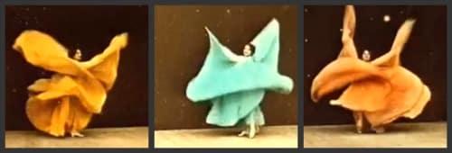 Loïe Fuller y el baile serpentina - Su vida y biografía de Loie Fuller