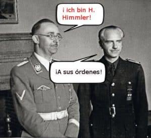 Himmler y Serrano Suñer
