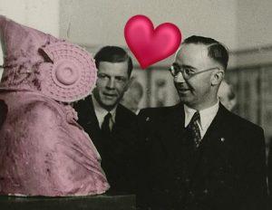 Himmler y la Dama de Elche