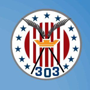 Emblema del escuadrón 303 de los locos polacos