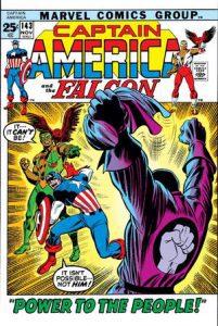 capitan america y falcon, hñero negro de marvel como Black Panther